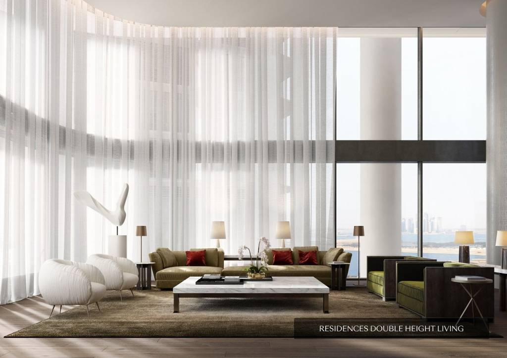 Luxurious Duplex W/ Private Terrace | The Residence by Dorchester Collection