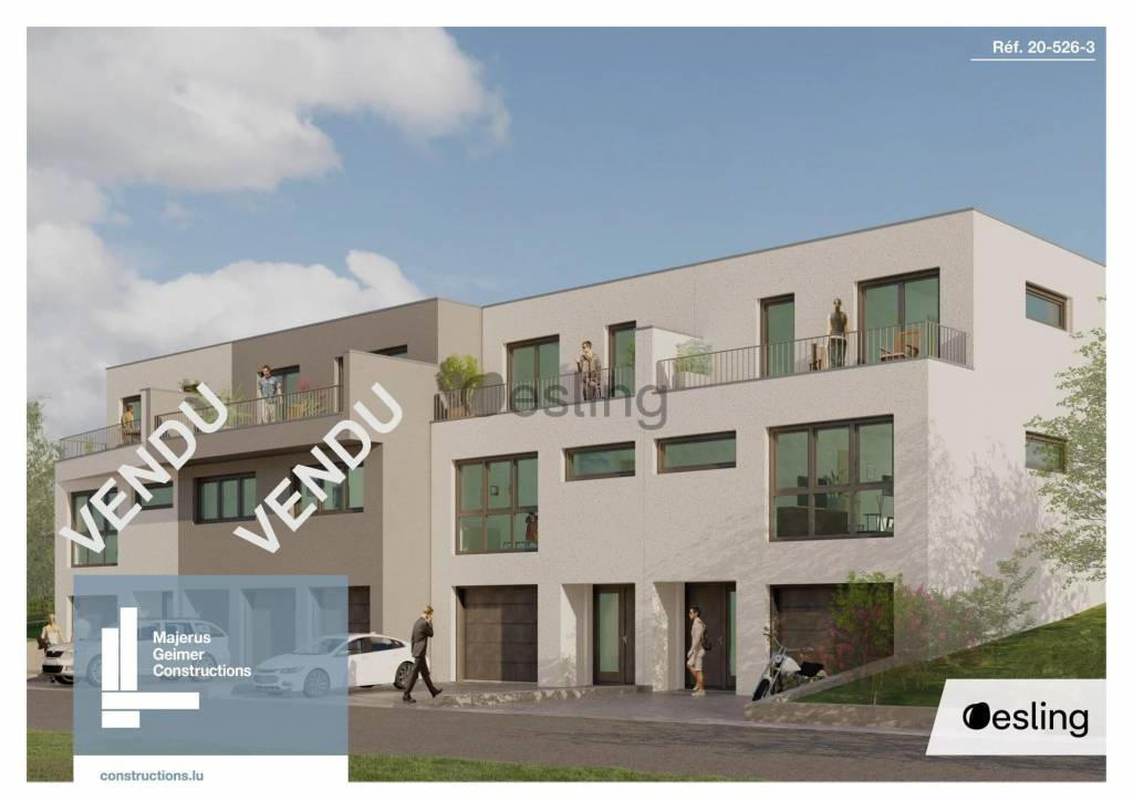 Maison unifamiliale jumelée à vendre à Erpeldange/Wiltz