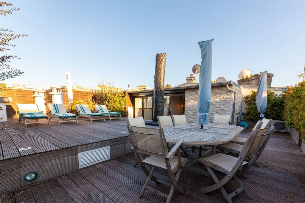 Duplex meublé avec les terrasses  - Paris 16ème