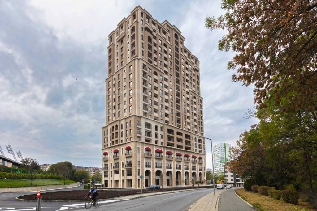 9 appartements neufs dans la meilleure résidence  au cœur de la ville Burgas de la mer Noire en Bulgarie.