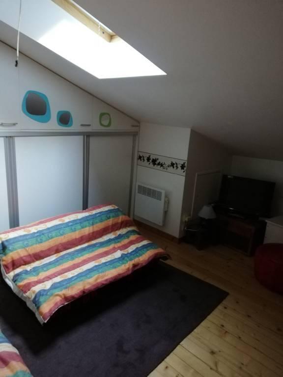 Chambre Parquet Fenêtre de toit