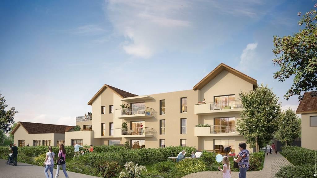 5' vinay, axe Valence/Grenoble - T4 Rez de jardin