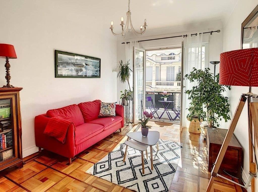 SALE - Apartment 3 Rooms Nice Fleurs Balconies High Floor