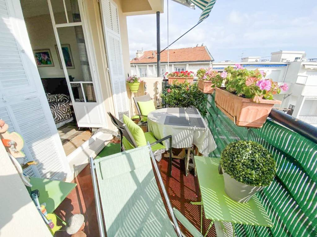 SALE Apartment 3 Rooms 71m² Nice Musiciens Top Floor Terrace