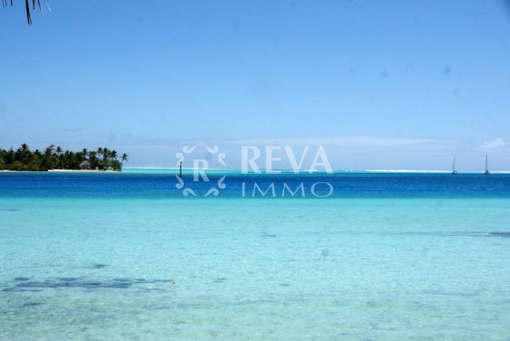 Magnifique projet de parcelle à vendre avec accès bord de mer - Maupiti
