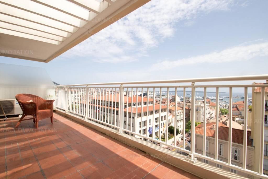 2p Cannes Centre vue Mer