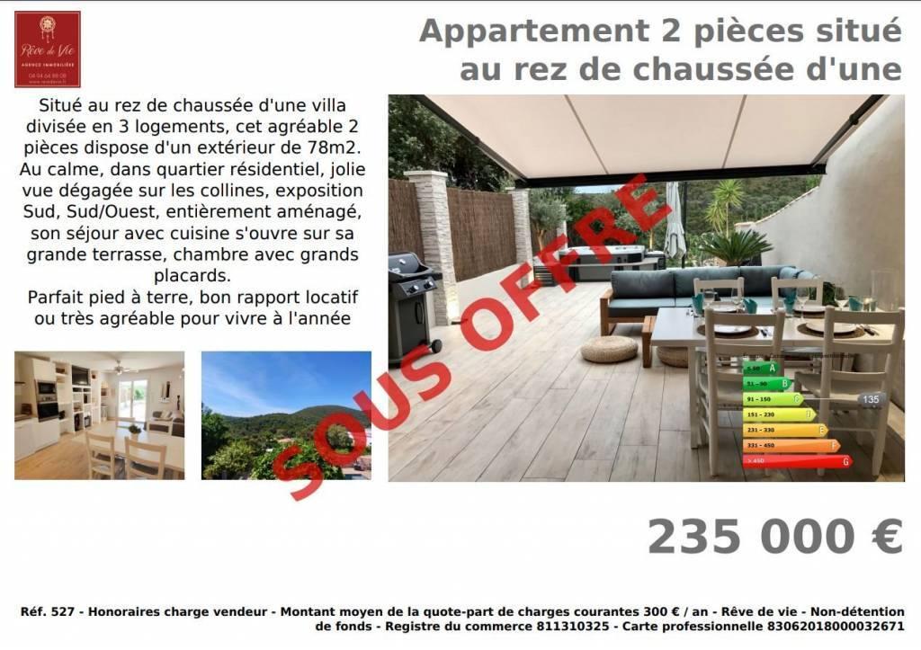 Sale Apartment Cavalaire-sur-Mer Bonporteau