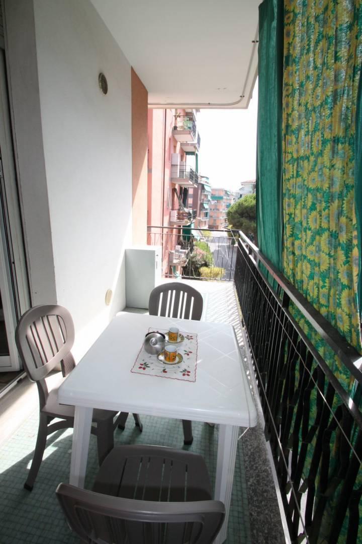 balcone vivibile attrezzato