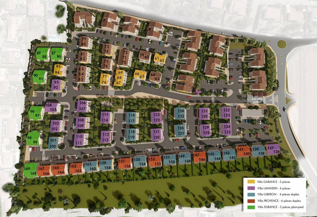 Development Housing estate Pertuis