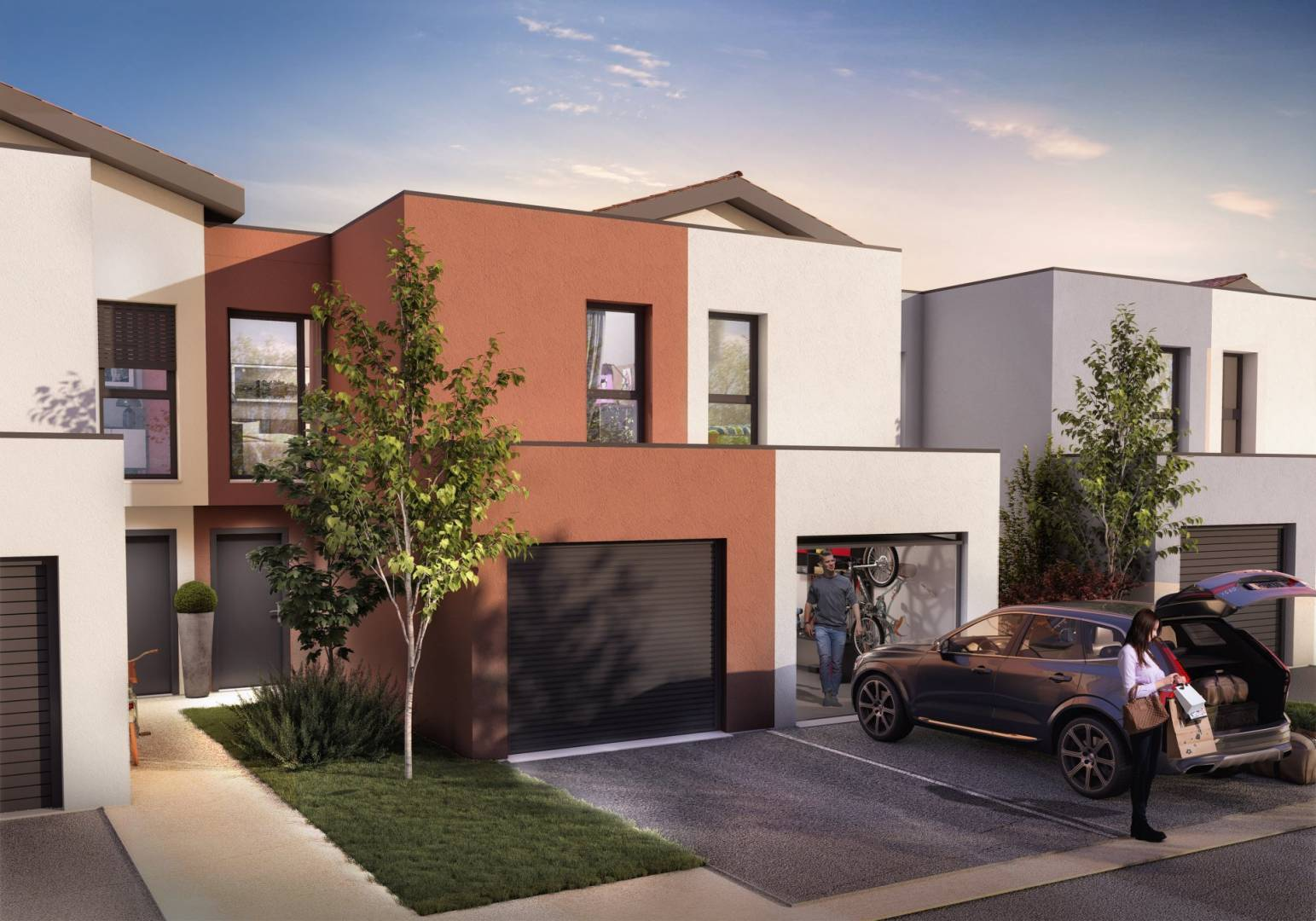Development Housing estate Toulouse