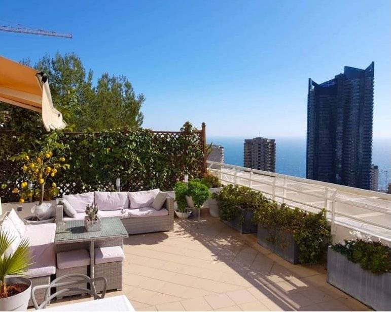 Sale Apartment Beausoleil Moyenne Corniche