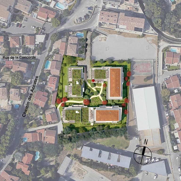Development Building Marseille 11ème