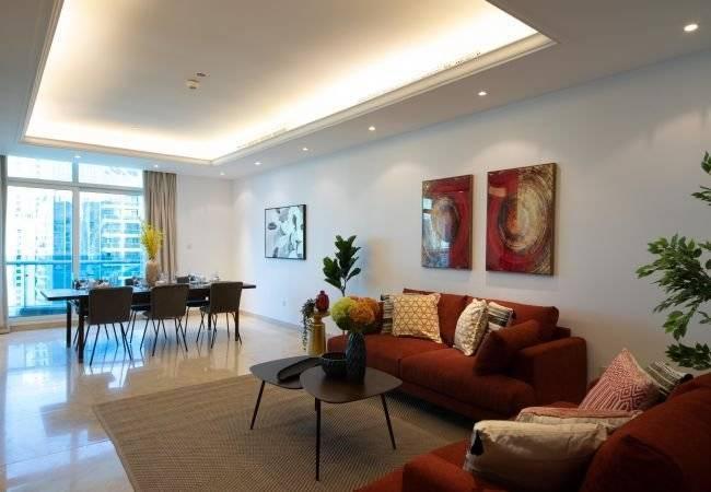 Dubai - Alquiler vacacional - Apartamento - 7 Personas - 3 Habitaciones - 3 Baños - 202 m2 - Piscina