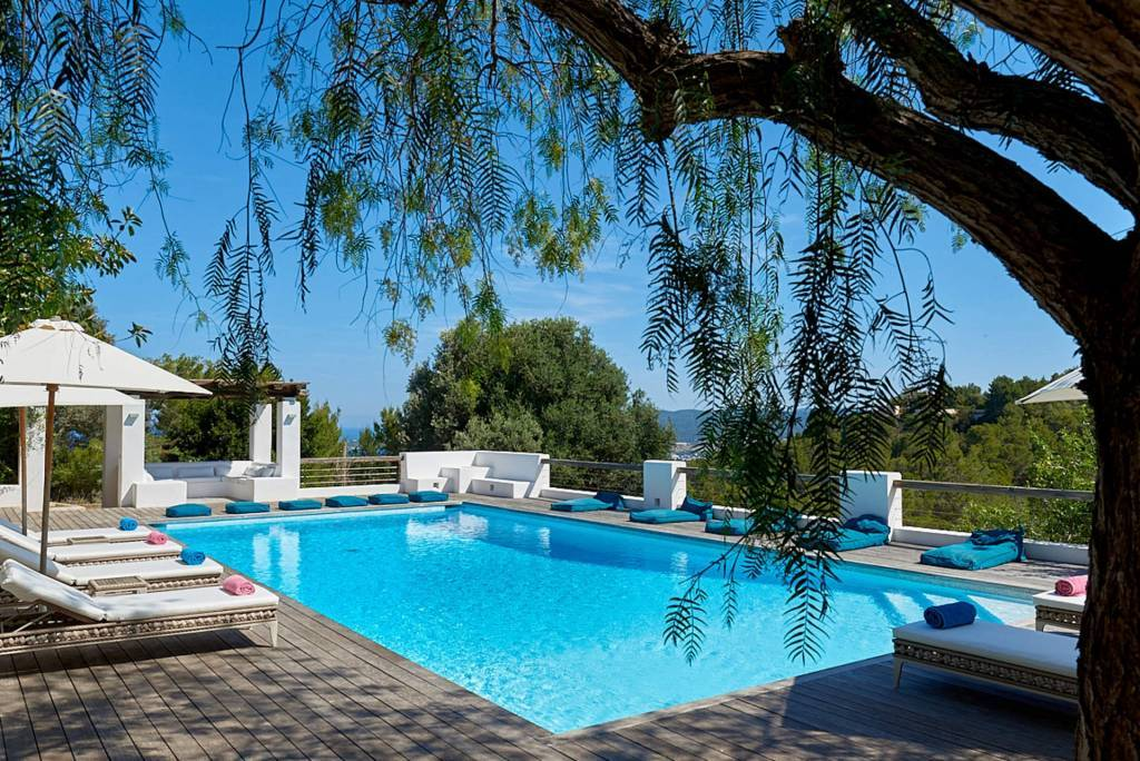 Ibiza - Holiday rental - House - 10 Persons - 5 Bedrooms - 5 Bathrooms - Swimming pool.