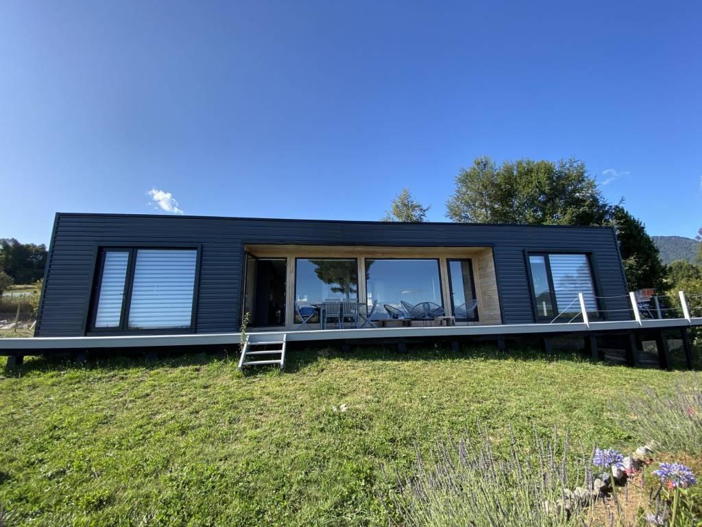 Chile - Futrono - Lago Ranco - Se vende - Propiedad - 3 cuartos - Vista al Lago - Terreno 1500 m2