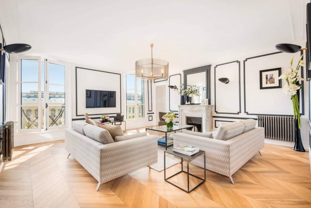 Paris 1er - Location saisonnière - Duplex - Appartement - 6 Personnes - 3 Chambres - 3 Salles de bain - 121 m2.