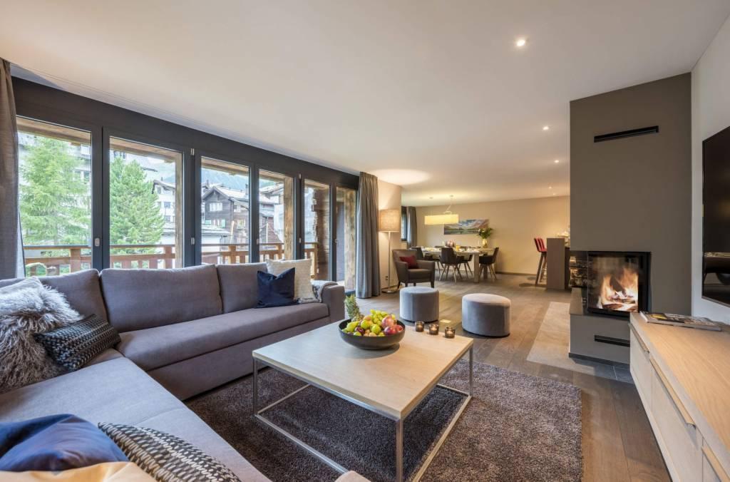Zermatt - Holiday rental - Apartment - 12 Persons - 6 Bedrooms - 6 Bathrooms - 340 m²