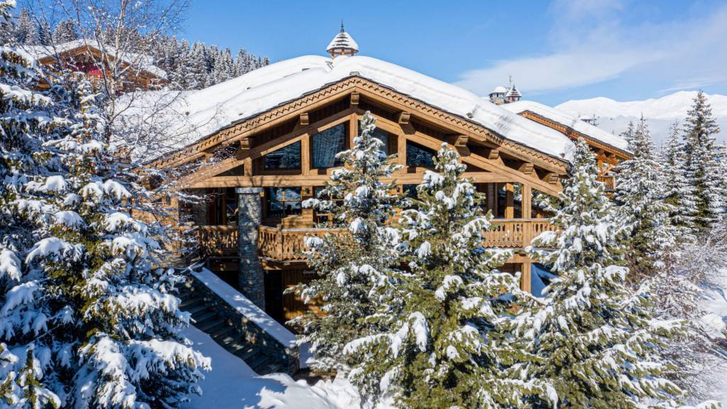 Courchevel - Holiday rental - House - 12 Persons - 5 Bedrooms - 5 Bathrooms - Jacuzzi