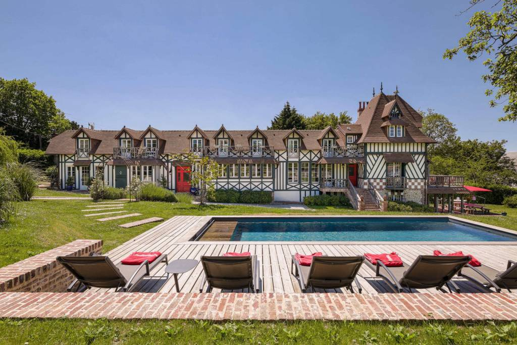 Normandie - Trouville-sur-mer - Holiday rental - House - 10 Persons - 7 Bedrooms - 5 Bathrooms - Swimming pool
