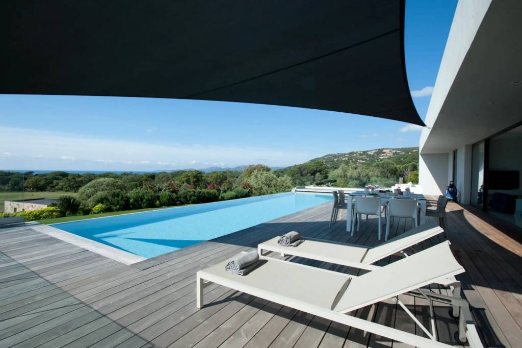 Corsica - Porto-Vecchio Region - Holiday rental - House - 8 Persons - 4 Bedrooms - 3 Bathrooms - Swimming pool.