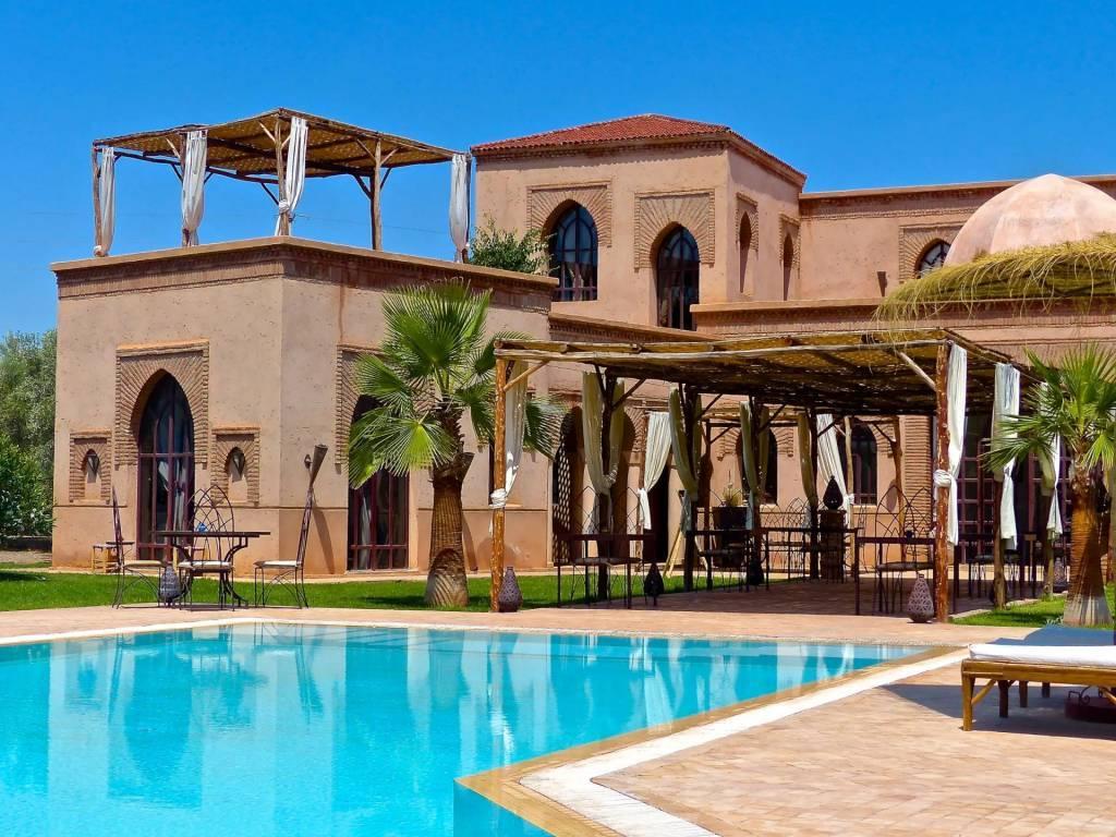 Marrakech - Casa - Alquiler vacacional - 18 Personas - 7 Habitaciones - Piscina.