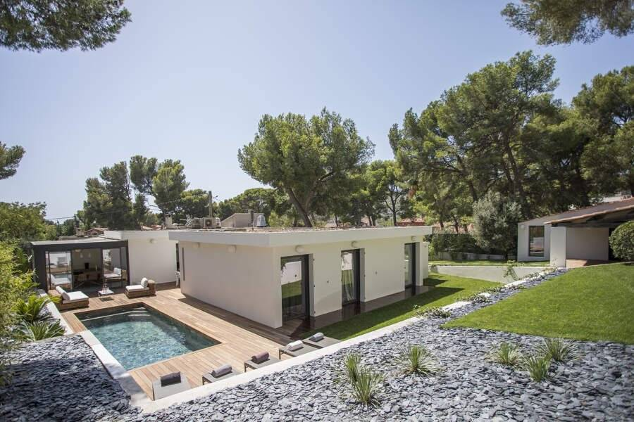 Cassis - Holiday rental - House - 10 Persons - 5 Bedrooms - 4 Bathrooms - 170 m² - Swimming pool
