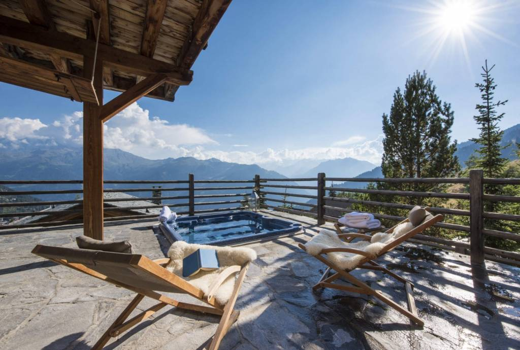 Verbier - Location saisonnière - Chalet - Maison - 11 Personnes - 6 Chambres - 6 Salles de bain - Jacuzzi