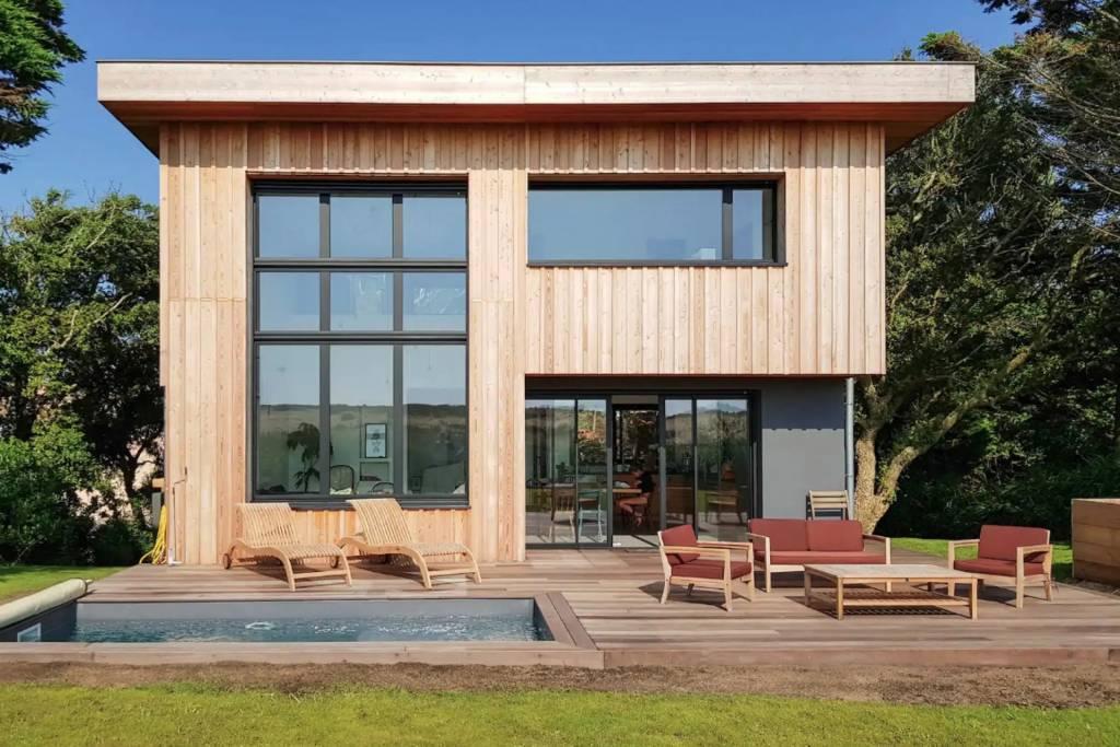 Hossegor - Maison  - Location saisonnière - 10 Personnes -  5 Chambres - Piscine