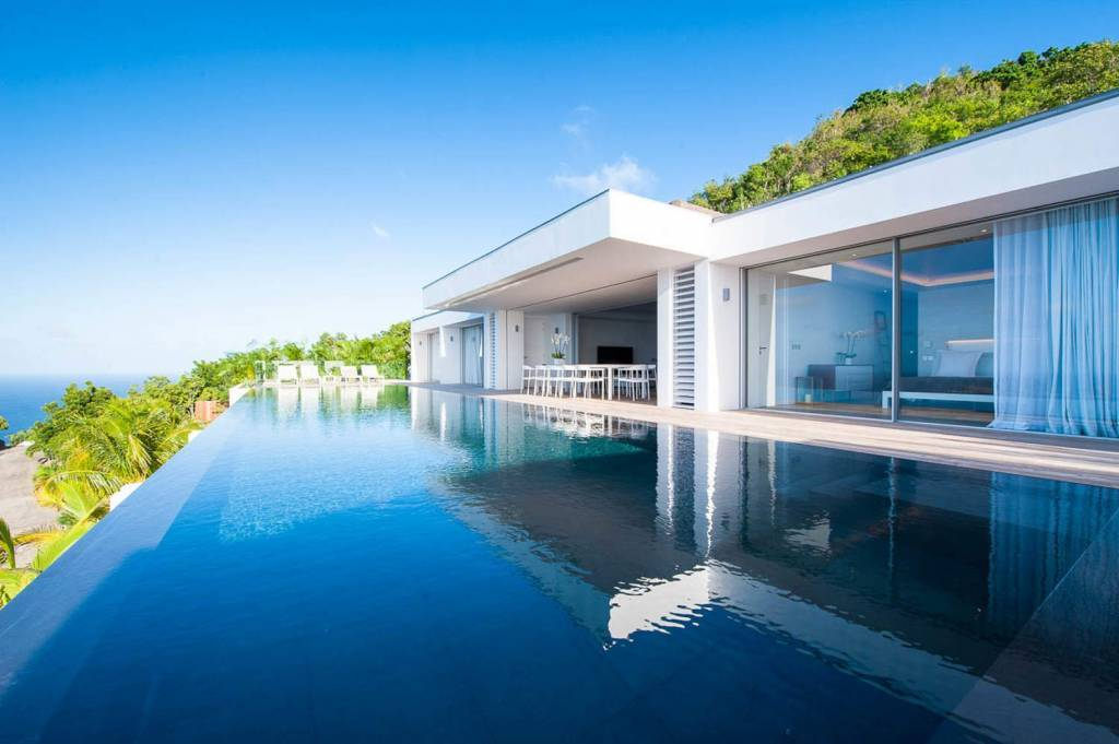 Saint Barthélemy - Caribbean - House - Holiday rental - 10 Persons - 5 Bedrooms - Swimming pool