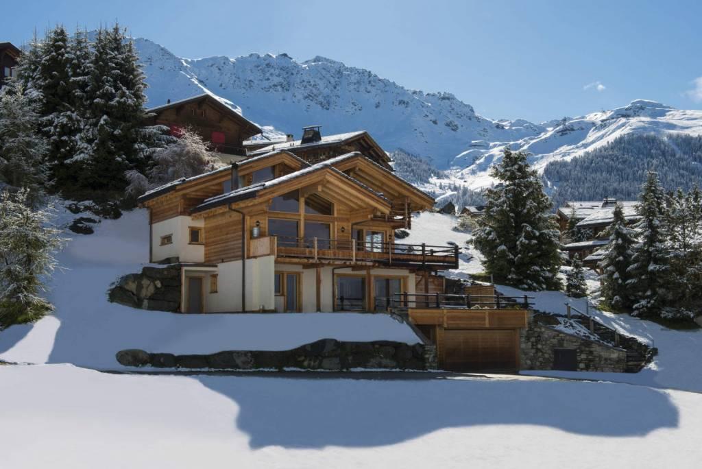Verbier - Holiday rental - Chalet - 10 Persons - 5 Bedrooms - 5 Bathrooms - 350 m²