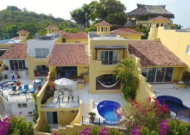Mexique - Acapulco - Brisas del Marqués - Vente - Maison - 5 chambres - 5 Salles de bains - Piscine