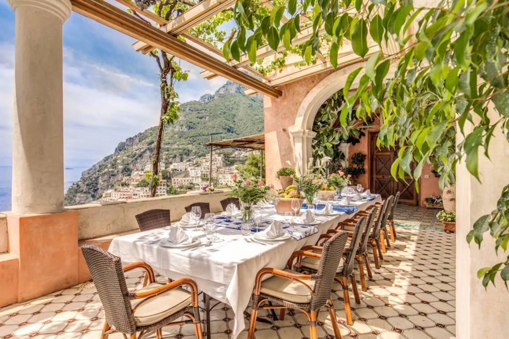 Positano - House - Holiday rental - 16 Persons - 8 Bedrooms - Swimming pool.