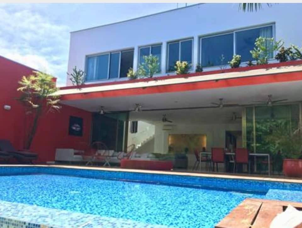 PLAYA DEL CARMEN - MÉXICO - VACATIONAL RENT - HOUSE WITH PRIVATE POOL.