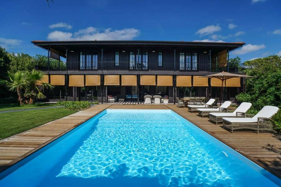Cap Ferret - Holiday rental - House - 9 Persons - 4 Bedrooms - 3 Bathrooms - 200 m² - Swimming pool