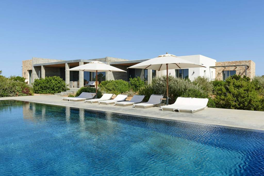 Formentera - Holiday rental - House - 10 Persons - 5 Bedrooms - 6 Bathrooms - Swimming pool.