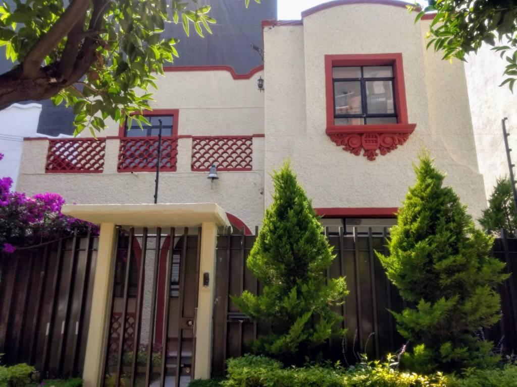 Mexico City - Colonia del Valle centro - House - Rent - 3 Bedrooms - 2.5 Bathrooms.