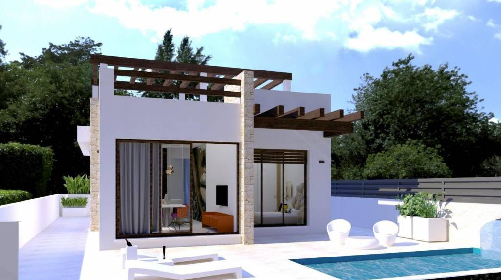 Вера - Коста-де-Альмерия - Продажа - Дом - Новый - З спальни - 2 ванные комнаты - Плавательный бассейн