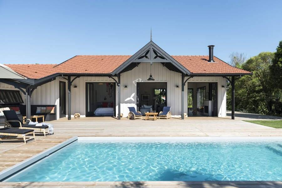 Cap Ferret - Holiday rental - House - 8 Persons - 4 Bedrooms - 3 Bathrooms - 220 m² - Swimming pool