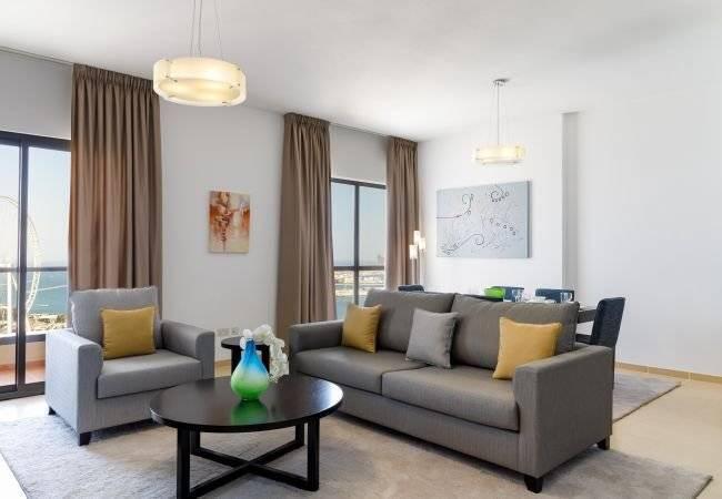 Dubai - Holiday rental - Apartment - 4 Persons - 2 Bedrooms - 2 Bathrooms - 118 m2 - Swimming pool