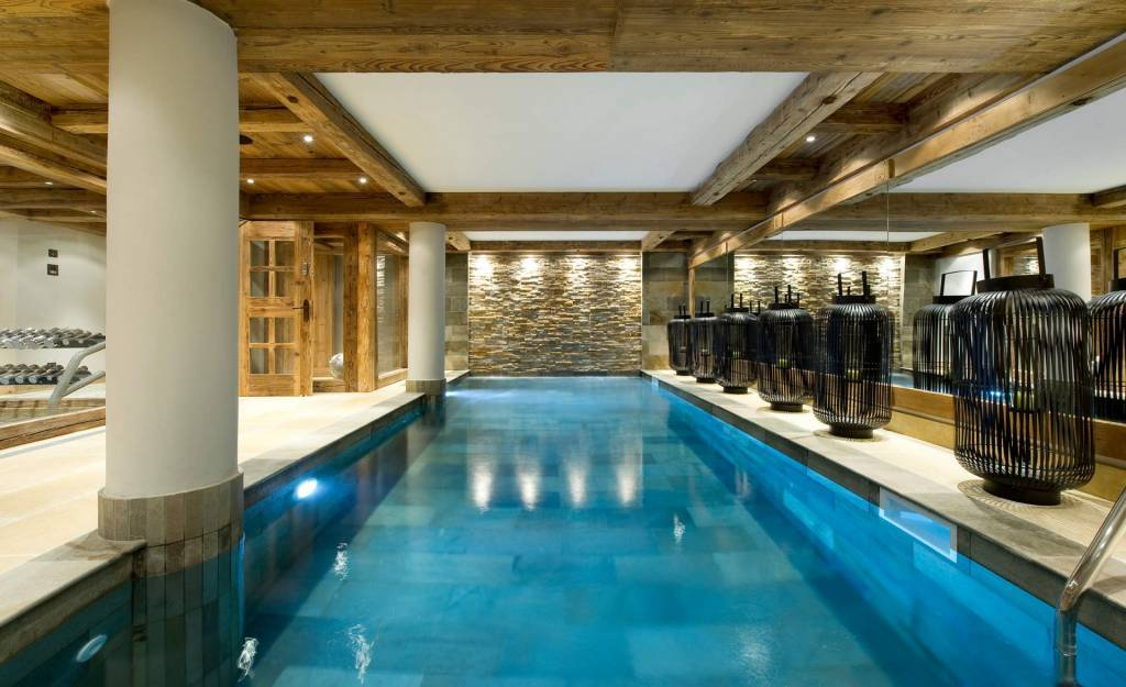 Courchevel 1850 - Holiday rental - Chalet - House - 14 Persons - 7 Bedrooms - 7 Bathrooms - Swimming pool