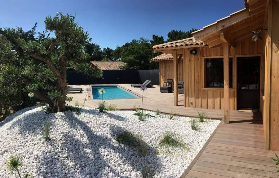Cap Ferret - Holiday rental - House - 12 Persons - 5 Bedrooms - 4 Bathrooms - 190 m² - Swimming pool