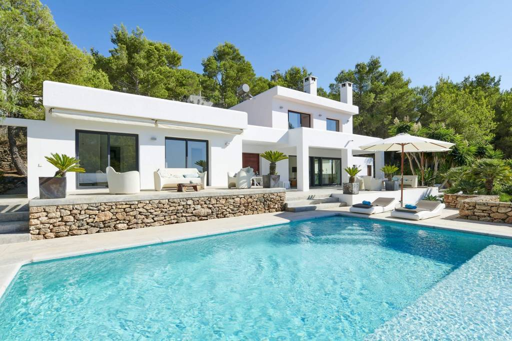 Ibiza - Holiday rental - House - 8 Persons - 4 Bedrooms - 4 Bathrooms - Swimming pool.