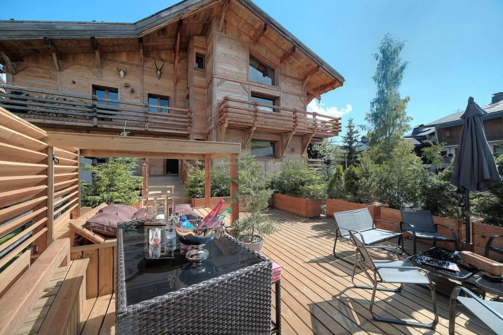 Megève - Location saisonnière - Maison - 16 Personne - 7 Chambres - 7 Salles de bain - Piscine