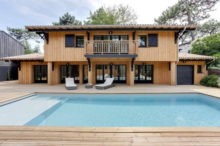 Cap Ferret - Holiday rental - House - 14 Persons - 6 Bedrooms - 4 Bathrooms - 250 m² - Swimming pool