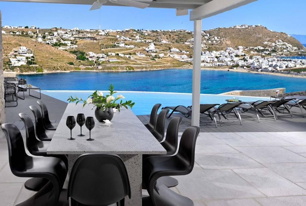 Mykonos - Kanalia - Location saisonnière - Maison - 10 Personnes - 5 Chambres - 5 Salles de bains - Piscine