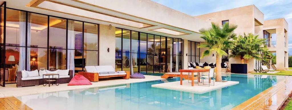 Marrakech - House - Holiday rental - 5 bedrooms - Indoor and outdoor heated swimming pool
