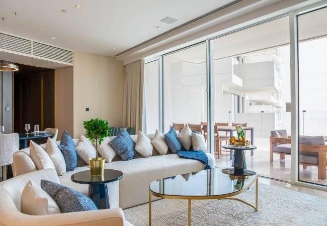 Dubaï - Location saisonnière - Appartement - 7 Personnes - 3 Chambres - 3 Salles de bain - 257 m2 - Piscine