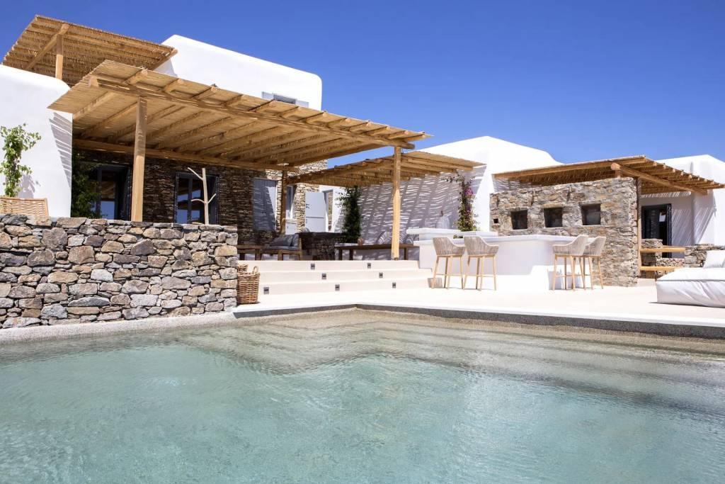 Mykonos - Maison - Location saisonnière - 20 Personnes - 8 Chambres - Piscine