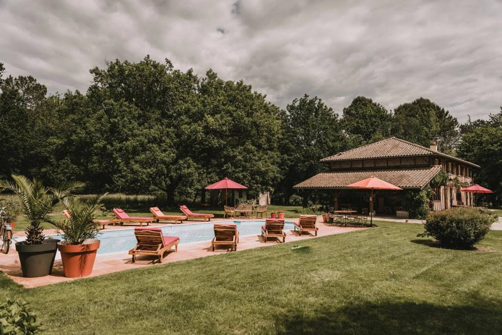 Hossegor - Maison - Location saisonnière - 12 Personnes - 6 Chambres - Piscine.