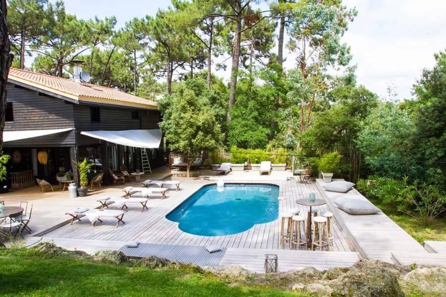 Cap Ferret - Alquiler vacacional - Casa - 12 Personas - 6 Habitaciones - 6 Baños - 280 m² - Piscina